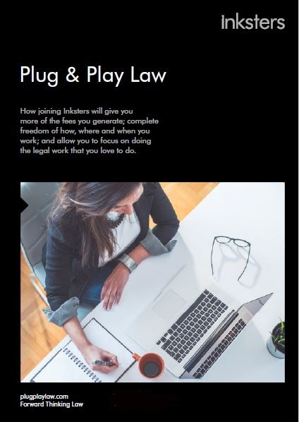 Inksters - Plug and Play Law - Brochure Cover